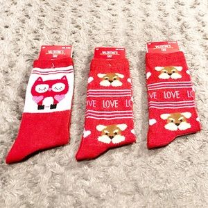 ❤️ Women's Printed Socks 3 pairs total $15 New!